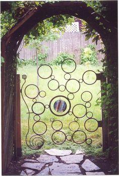 Garden gate by philbeckmetalart.com