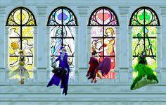 The 4 Queens - Diamond, Spade, Heart, Club