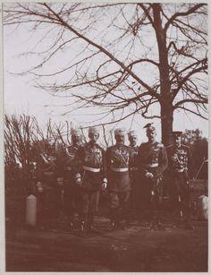 Spala 1912: Oficiais do Imperador Nicolau II.