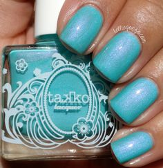 Takko Lacquer Floridazed // kelliegonzo.com    .....      TAKKO LACQUER SUMMER 2015 COLLECTION SWATCHES & REVIEW