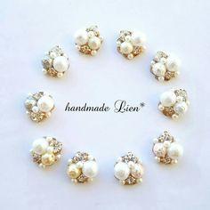 Handmade Accessories, Pearl Earrings, Pearls, Jewelry, Fashion, Bijoux, Stud Earrings, Moda, Pearl Studs