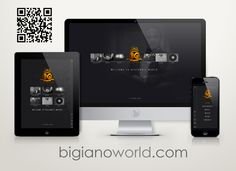Enter the online world of Bigiano - well known Nigerian singer and songwriter. Showcase Design, Web Design, Singer, World, The World, Singers, Design Web, Site Design, Peace