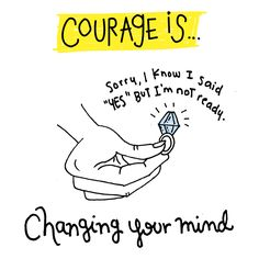 100 Definitions Of Courage — Hello Fears Confort Zone, I Said Yes, Change Your Mind, Dream Job, Second Life, Good Advice, You Changed, Definitions, Self