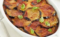 Aubergine Gratin with Tomato Sauce WW - Alimentation - Flat Stomach Diet, Flat Belly Diet, Low Glycemic Diet, Low Carb Diet, Best Diet Plan, Healthy Diet Plans, Healthy Food, Indian Diet Recipes, Healthy Protein Breakfast
