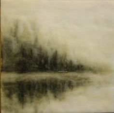 Ethereal - Encaustic - Beautiful