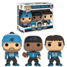 Newton/Kuechly/Olsen (Carolina Panthers) NFL 3-Pack Funko Pop!
