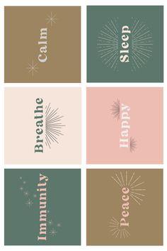 Roller Bottle Printable Labels Essential Oil Labels   Etsy Printable Labels, Printable Stickers, Young Essential Oils, Feeds Instagram, Bullet Journal Art, Journal Stickers, Instagram Highlight Icons, Web Design, Cool Cards