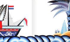 Paola Pallottino - illustration from La Barca (Emme 1976)  #illustration #book #pallottino