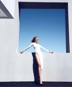Cameron Díaz for Harper's Bazaar USA August 2014 by Camila Akrans