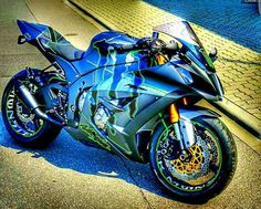 sport sport bikes motorcycles-and-more: Kawasaki Kawasaki Ninja, Kawasaki Motorcycles, Triumph Motorcycles, Motorbike Girl, Motorcycle Gear, Green Motorcycle, Motorcycle Quotes, Custom Sport Bikes, Custom Motorcycles