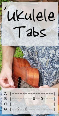 If you love playing the guitar, you really owe it to yourself to give the ukulele a go! Some people feel the ukulele is a good starting point, for example for kids, and then eventually graduate to playing the guitar but the ukulele is Ukulele Tabs Songs, Ukulele Fingerpicking Songs, Ukulele Songs Beginner, Cool Ukulele, Uke Tabs, Guitar Songs, Hawaiian Ukulele Songs, Luna Ukulele, Ukulele Case