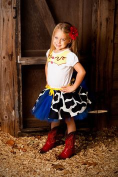 Jessie The Cow Girl Toy Story Inspired Tutu Costume Party Set Order Now through September 20th