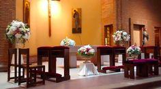 Preciosa quedó esta iglesia!!! flowerboutique