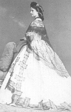 Maria Annunziata APF Madame Empress Elisabeth of Austria (Sisi, due to the movie also known now as Sissi, 1837-1898)