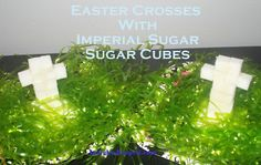 @April Cochran-Smith Ockerman: Easter Crosses with Imperial Sugar-Sugar Cubes(Fun Kids Craft)