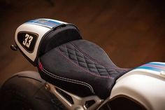 Custom Cushioning- #Customizing your #bike for style is always fun, but don't forget about your #riding comfort. A seat that cushions is great for long trips or even just your commute home. Your booty will thank you, and so will your #passengers.