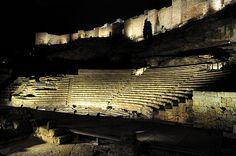 Teatro romano, Málaga.
