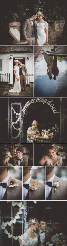 Vintage 1940s wedding theme