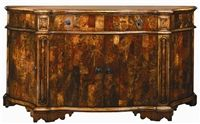 European inspired breakfront of burl wood. Wood Bedroom Furniture, Rustic Furniture, Italian Furniture, French Furniture, Into The Woods, Luxury Dining Room, Home Furnishings, Buffet, Cabinet