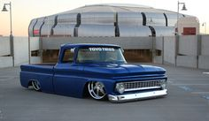 (Slammed 1963 Chevy Truck) NEVER CARED FOR SLAMMED TRuCKS, BuT iM STARTiNG TO COME AROuND. THiS iS SiCK AS FuuuCKKK*
