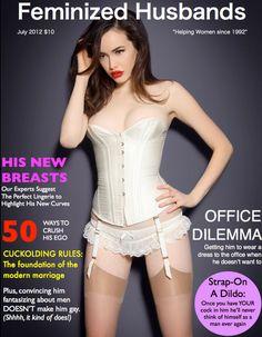 75b2fc0082 TV-Erziehung  amp  Feminisierung  Magazine Covers Bridal Lingerie
