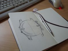 In our workshop, Design of our model thunderbird.  www.mb-watches.com