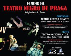 El teatro negro de Praga en Ecuador