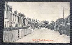 Station Road Snettisham Norfolk Post Card | eBay