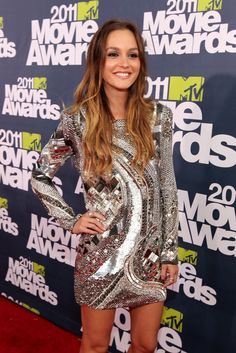 Leighton Meester - 2011 MTV Movie Awards - Love this dress