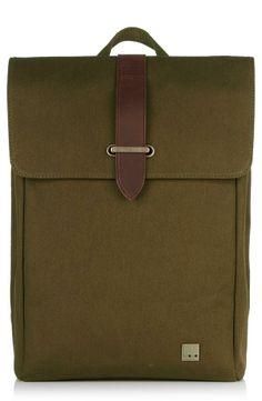 Clean-cut style backpack