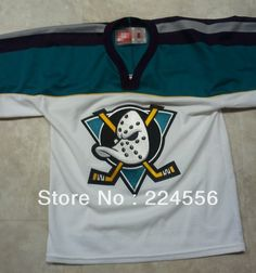 980efe672 Find More Sports Jerseys Information about custom 1997 00 season anaheim mighty  ducks Alternate jersey 9
