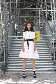 Alaba Galocha Louis Vuitton aw 2014-15 total look