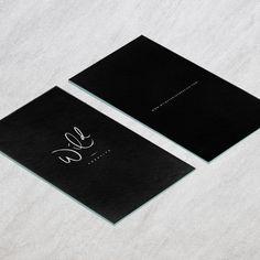 Hand Lettered Variations | Wild Creative | Mel Volkman | Hand Lettering | Brush Lettering | Logo Variations | Custom Logo Design | Branding | Black and White | Modern Lettering Design | Business Card