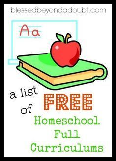 List of Free Homeschool Curriculum that will Excite your Child A list of all the FREE Full Homeschool curriculums available. Is your favorite on the list?A list of all the FREE Full Homeschool curriculums available. Is your favorite on the list? Free Homeschool Curriculum, Homeschooling Resources, Learning Activities, Easy Peasy Homeschool, Catholic Homeschooling, Homeschool Supplies, Kindergarten Curriculum, Toddler Activities, Thing 1