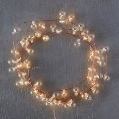 String Light Wreaths, Trees and Freeform Decorations - Improvised Life