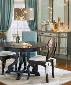 Gold and silver accents give any room an easy glam makeover