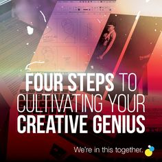 Four Steps to Cultivating Your Creative Genius Magazine Design, Creative, Movie Posters, Blog, Film Poster, Film Posters