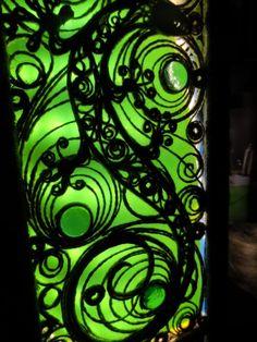 Ажурный светильник Веры Пушиной. Филигрань из веревочки
