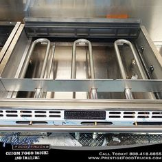 Ever wonder what it looks like under a flat top griddle? Propane cooking equipment gives you even heat. #food #foodtruck #foodtrucks #business #orlando #florida #photooftheday #mobile #kitchen #equipment #cooking