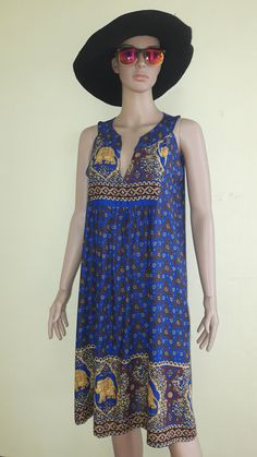 Vestidos hippie/bohemio gitano/vestido por MadeDress en Etsy