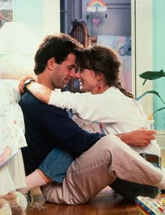 Mel Harris and Ken Olin as Hope Murdoch and Michael Steadman from thirtysomething!  Loved that show!