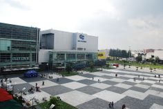 Vista del Centro Comercial Gran Estación en Bogotá, Colombia    CRB