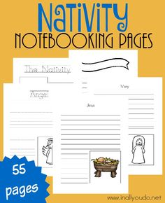 These Nativity Noteb