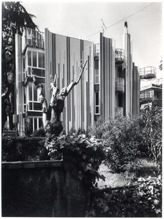 Casa Papanice (1966-70) in Rome, Italy, by Paolo Portoghesi