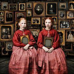 """Beth Conklin/ """"Memory"""" (digital collage)"""