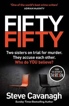 Fifty-Fifty by Steve Cavanagh - Book Review
