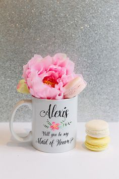 The Opposite of Mean Muggin': For girls who love their morning coffee, what could be better then a personalized mug? Your bridesmaid will love having a custom cup to drink out of while getting ready for your special day. With every sip after that, they'll fondly reflect on the fun memories of your wedding.