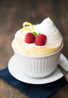 lemon souffle recipe | use real butter