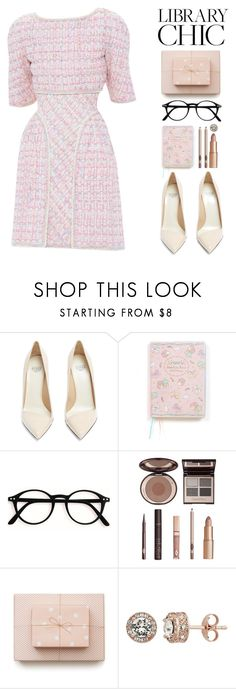 """LCHIC"" by serenadaiana-sosa ❤ liked on Polyvore featuring Chanel, Francesco Russo, Charlotte Tilbury and Diamond Splendor"
