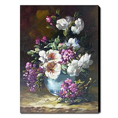Hand-Painted Still Life Vertical One Panel Canvas Oil Painting For Home Decoration 470437 2017 – $65.59